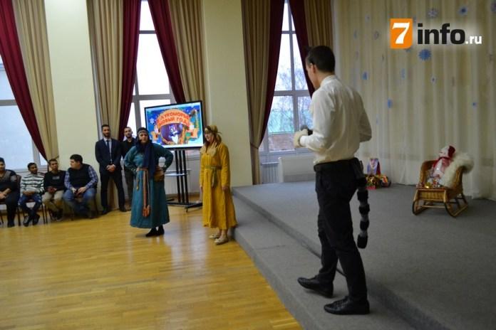 В Рязани прошла интернациональная новогодняя ёлка