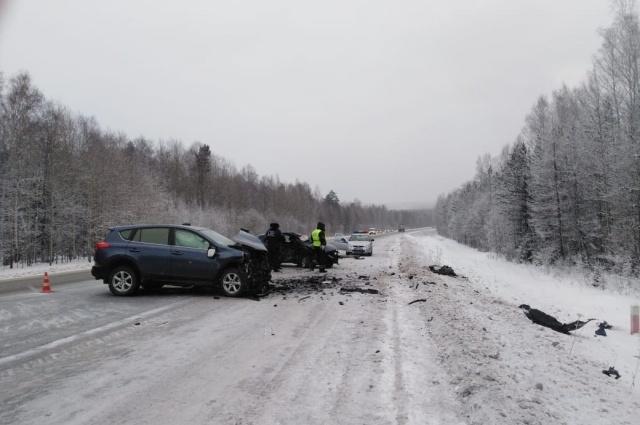 Женщина погибла на трассе Пермь – Екатеринбург