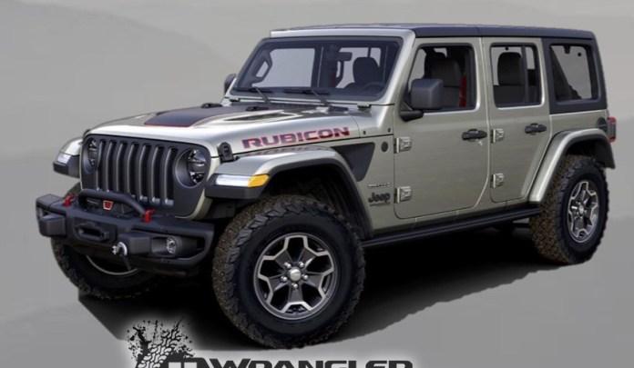 Вскоре выйдет Jeep Wrangler Rubicon Recon