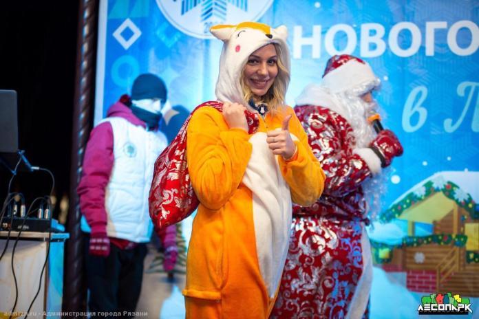 «Новогодние праздники в Лесопарке»: Рязань продолжает встречать гостей