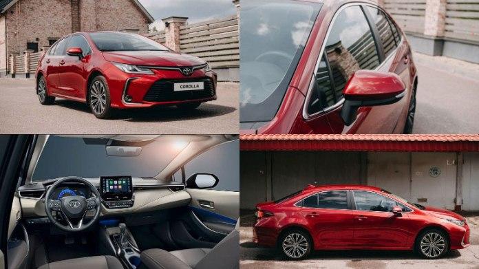 В России начались продажи новой Toyota Corolla