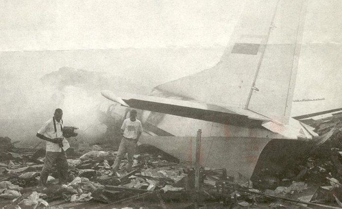 Крушение Ан-32 в Киншасе