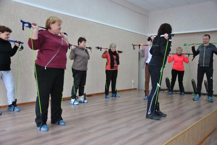 В Рязанской области состоялся мастер-класс по «северной ходьбе»