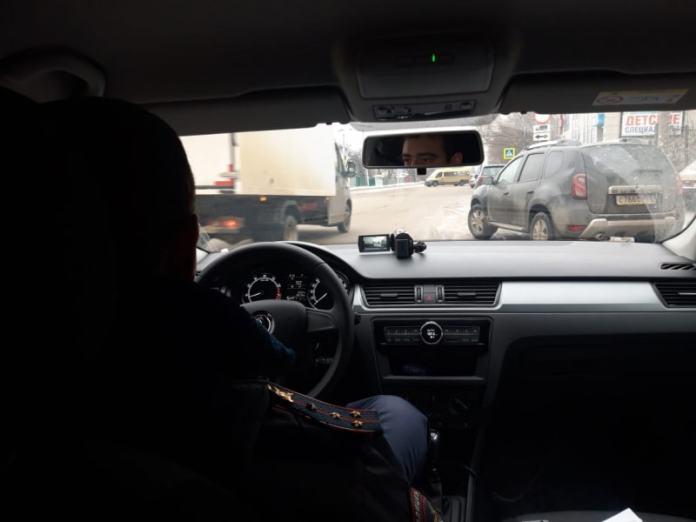 В Рязани работают скрытые патрули ДПС