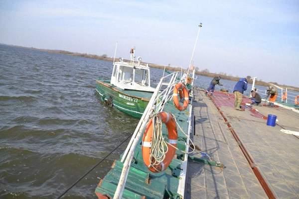 В Шиловском районе восстановили работу паромной переправы