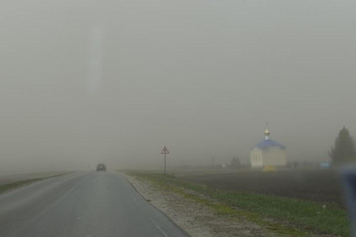 Рязанский райцентр накрыла настоящая пыльная буря