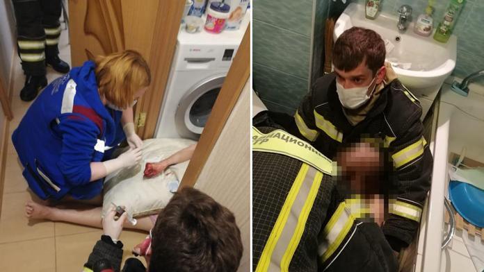 В Москве спасена заблокированная в квартире женщина