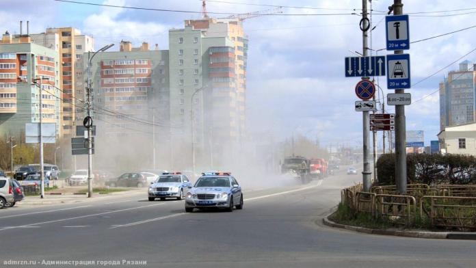 В четверг в Рязани планируется дезинфекция улиц