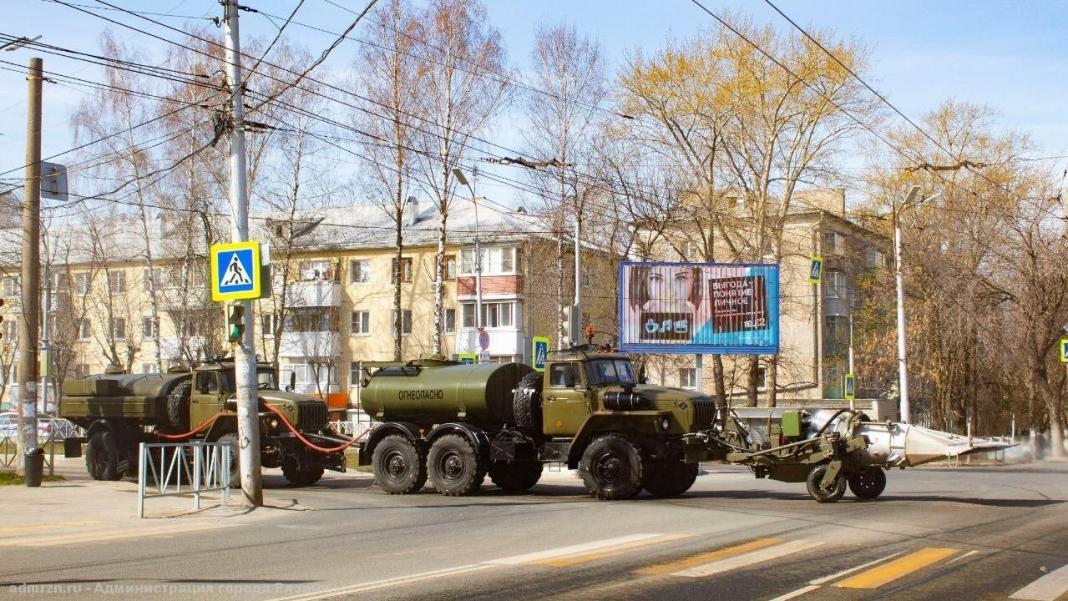 Во вторник в Рязани будут обрабатывать улицы