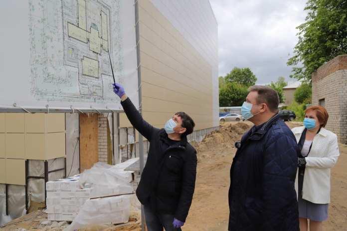Строительство новой школы в Горроще идёт с отставанием сроков