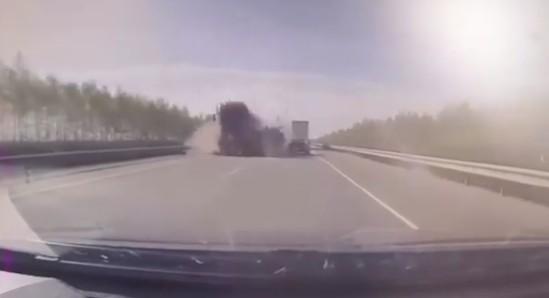 Смертельное ДТП в Александро-Невском районе попало на видео