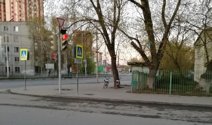 Соцсети: на улице в Рязани установили прокатные велосипеды