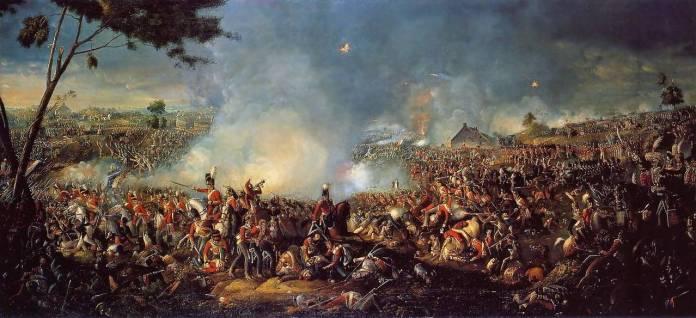 Наполеона Бонапарта разгромили в битве при Ватерлоо