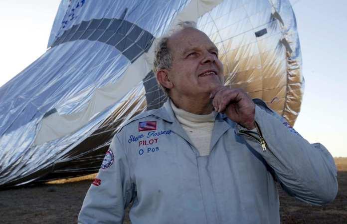 Началось первое в мире одиночное беспосадочное кругосветное путешествие на воздушном шаре