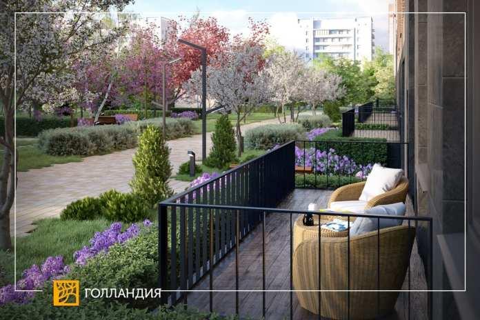 Компания «Мармакс» сделает подарок владельцам квартир с террасами