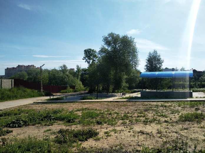 В администрации Рязани рассказали о благоустройстве комплекса на Голенчинской