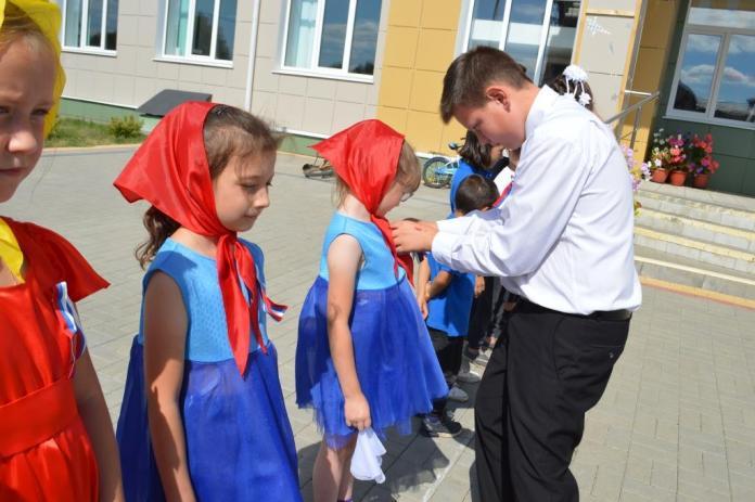 В Скопинском районе отметили День Государственного Флага России