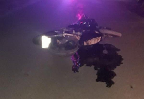 В Рязани мужчина получил травмы, упав с мотоцикла