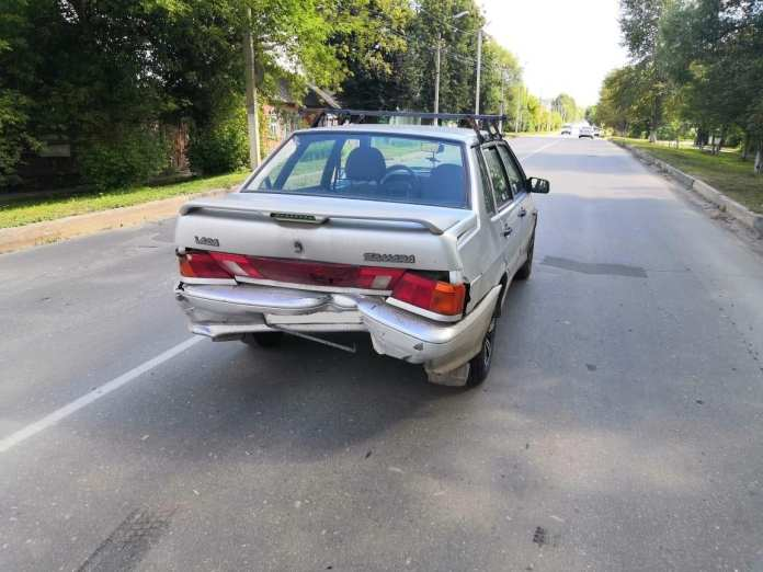 В Скопине водитель устроил ДТП и скрылся с места происшествия