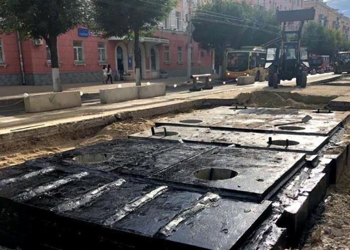 Ремонт теплотрассы на Первомайском проспекте близится к завершению