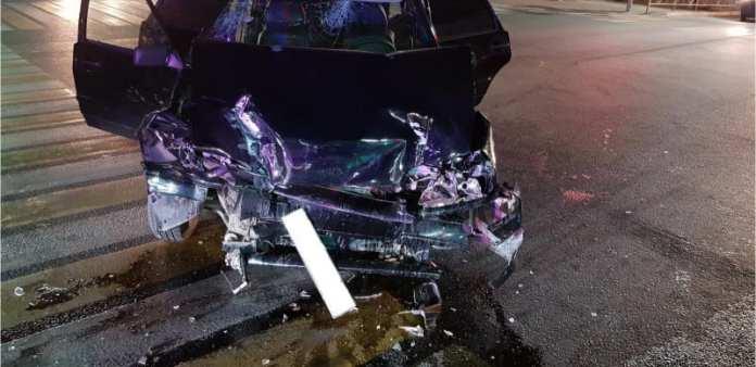 В жёстком ДТП в центре Рязани пострадали два человека
