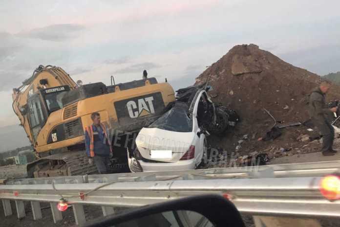 В Хакасии уходивший от погони водитель угробил пассажирку