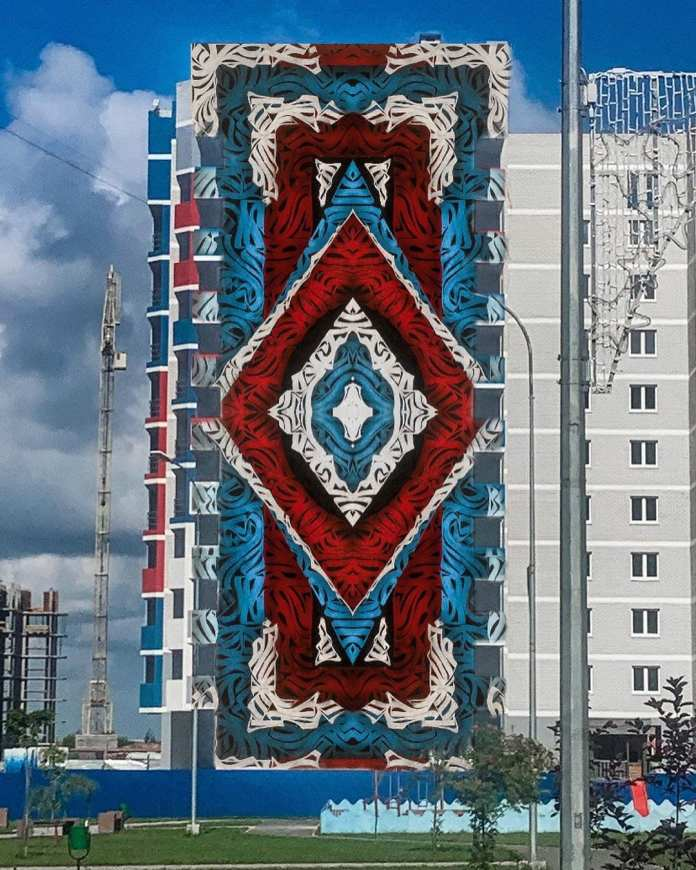 В Брянске появится первый мурал на стене десятиэтажки