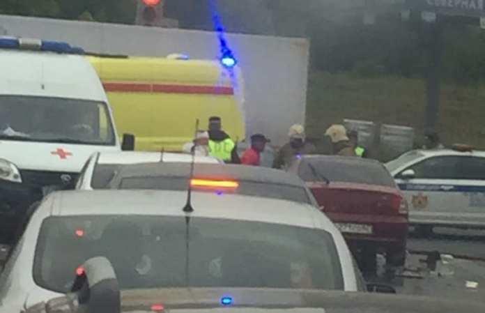 В Рязани таксист пострадал в ДТП - сводка