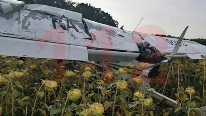 В Ульяновске пилот погиб при обработке полей