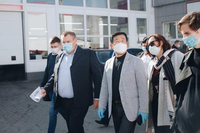 Президент региональной штаб квартиры KIA Motors Rus & CIS Чжин-Ха Ким посетил старейший дилерский центр «Рязаньавто»