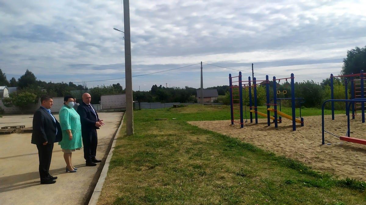 В Рыбновском районе успешно реализуется программа поддержки местных инициатив