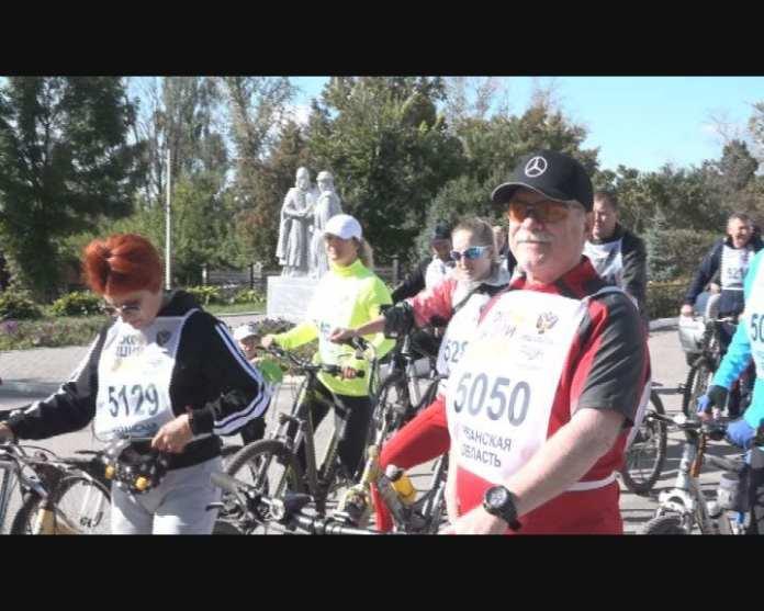В Скопинском районе прошел оздоровительный велопробег