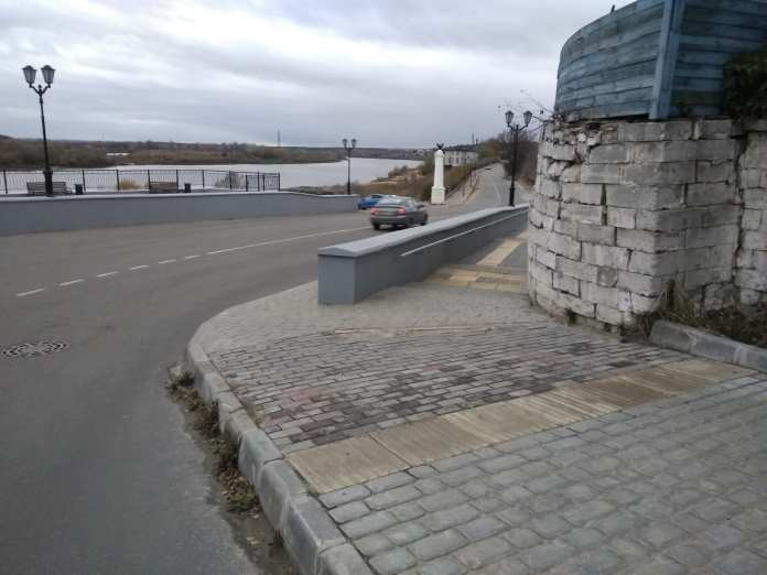 ОНФ усомнился в безопасности Рязанского спуска в Касимове