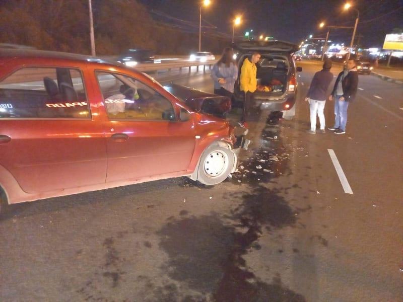 В Рязани в ДТП на Московском шоссе пострадали мужчина и женщина
