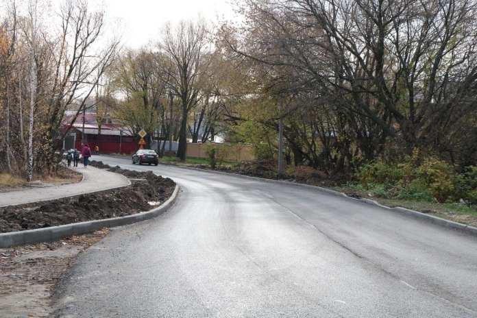 На улице Добролюбова в Рязани оборудуют современные пешеходные переходы