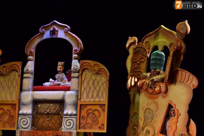 """В Рязанском театре кукол маленьким зрителям показали шутливую сказку """"Конек-горбунок"""""""