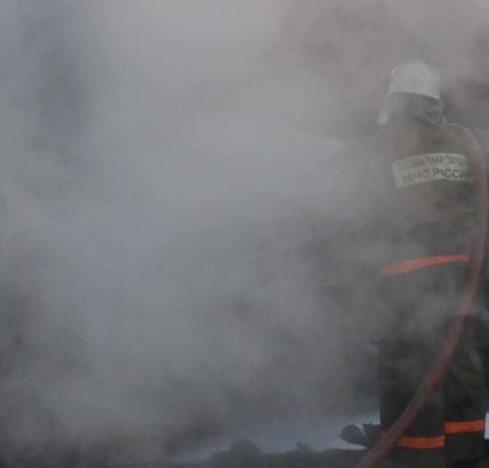 В результате пожара в Касимове пострадал один человек