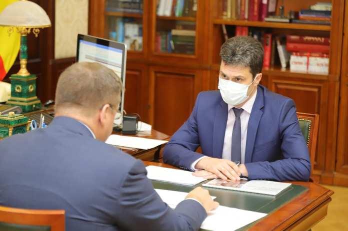 Министр ТЭК и ЖКХ Рязанской области отчитался Любимову о прохождении отопительного сезона