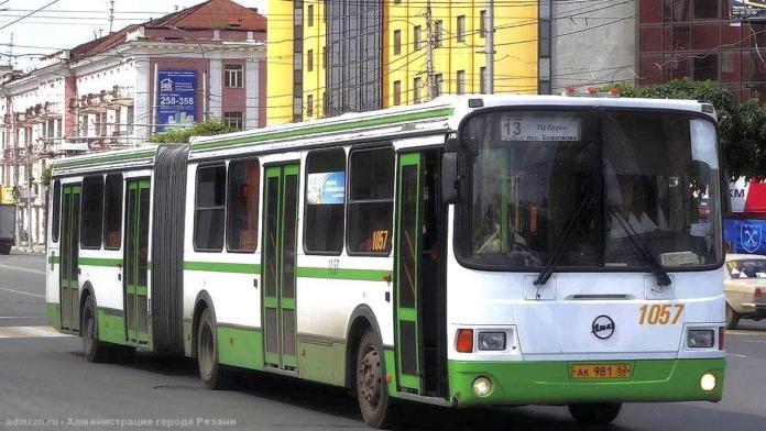 В Рязани изменится путь следования автобусов маршрута №13