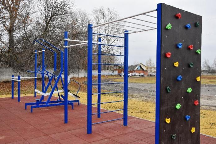 В Рязанской области открыли новые спортплощадки в Сасове и Михайлове