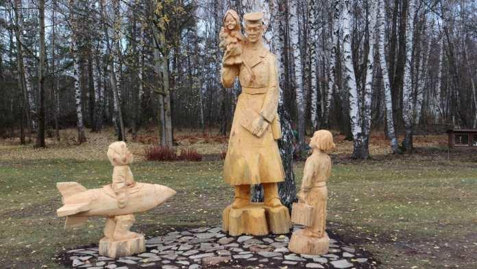 В музее в Рязанской области появился трёхметровый «Дядя Стёпа»