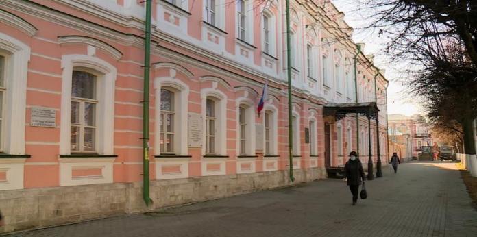 В Рязани приостановили реконструкцию здания гимназии №2