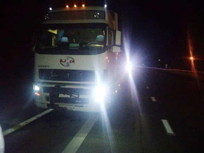 Под Рязанью грузовик сбил насмерть мужчину