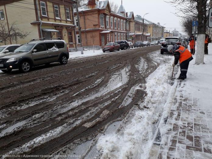 Рязанцы могут пожаловаться на некачественную уборку снега во дворах