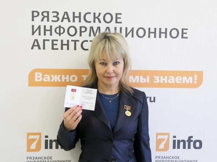 Главный редактор РИА «7 новостей» награждена памятным знаком «925 лет со дня образования города Рязани»