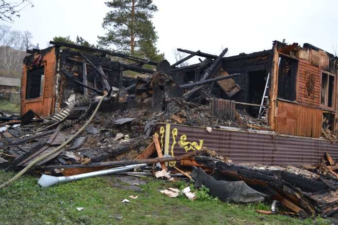 На пожаре в Пронске погибла пожилая женщина