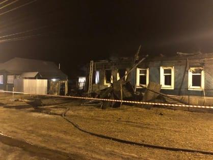 СК возбудил дело после гибели четырёх человек на пожаре под Рязанью