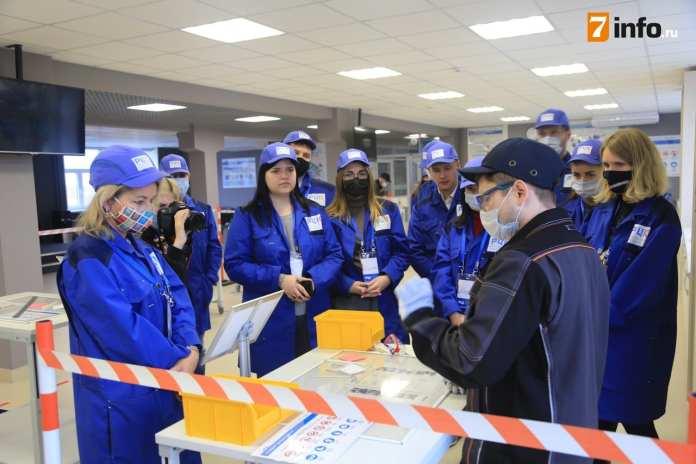 Рязанских журналистов научили бережливому производству