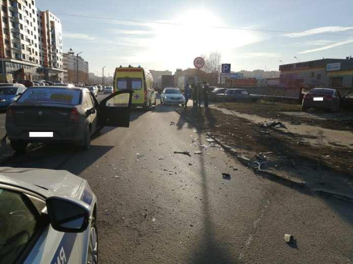 В результате аварии в Рязани пострадал один человек