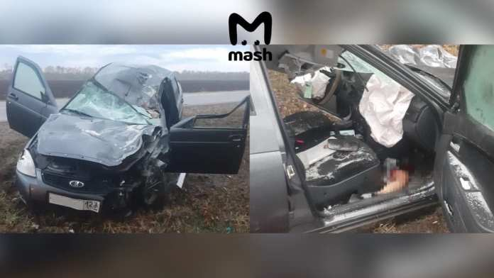 В результате аварии в Краснодарском крае погибли пять человек